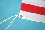 旗(ポリエステル)の仕立て参考画像